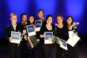 Juvenalia-kilpailujen 2012 emolaiset palkinnonsaajat